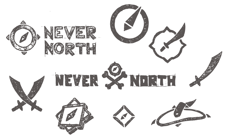 Never North preliminary sketches