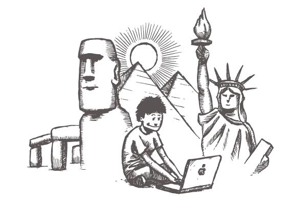 The digital nomad diaries...