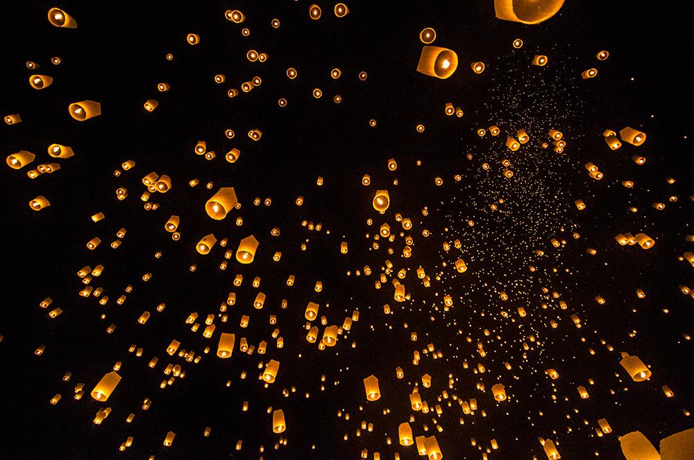 yi-peng-lantern-release